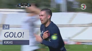 GOLO! Belenenses SAD, Kikas aos 34', Belenenses SAD 2-0 CD Feirense