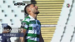 Sporting CP, Jogada, N. Gudelj aos 10'