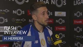 Liga (30ª): Flash Interview H. Herrera