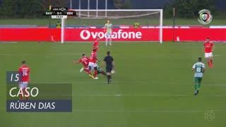 SL Benfica, Caso, Rúben Dias aos 15'