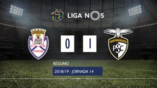 Liga NOS (14ªJ): Resumo CD Feirense 0-1 Portimonense