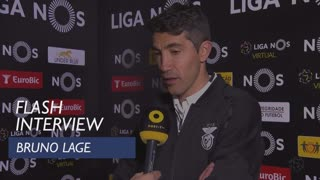 Liga (20ª): Flash interview Bruno Lage