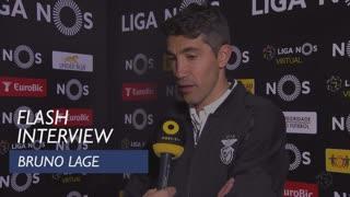 Liga (20ª): Flash interview Bruno Lage