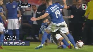 CD Feirense, Caso, Vítor Bruno aos 34'
