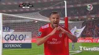 GOLO! SL Benfica, Seferovic aos 27', SL Benfica 3-0 CD Nacional