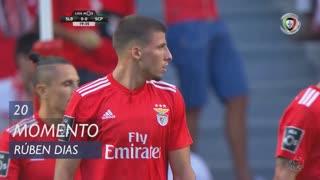 SL Benfica, Jogada, Rúben Dias aos 20'