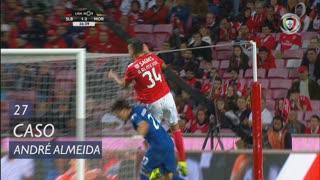 SL Benfica, Caso, André Almeida aos 27'