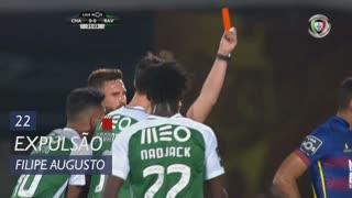 Rio Ave FC, Expulsão, Filipe Augusto aos 22'