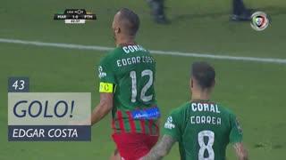 GOLO! Marítimo M., Edgar Costa aos 43', Marítimo M. 1-0 Portimonense