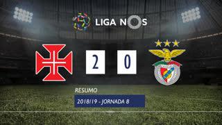 Liga NOS (8ªJ): Resumo Os Belenenses 2-0 SL Benfica