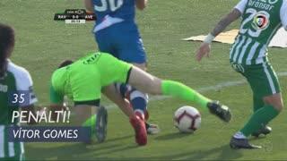 CD Aves, Penálti, Vítor Gomes aos 35'