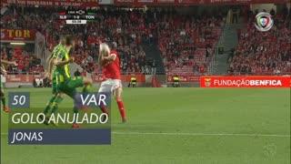 SL Benfica, Golo Anulado, Jonas aos 50'