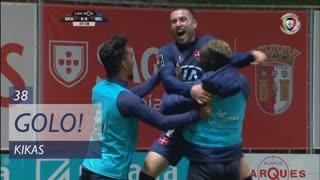 GOLO! Belenenses, Kikas aos 38', SC Braga 0-1 Belenenses