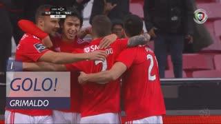 GOLO! SL Benfica, Grimaldo aos 1', SL Benfica 1-0 CD Nacional