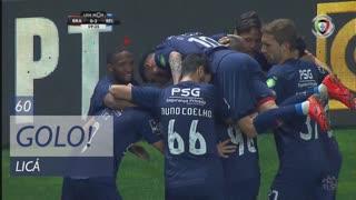 GOLO! Belenenses SAD, Licá aos 60', SC Braga 0-2 Belenenses SAD