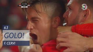 GOLO! SL Benfica, F. Cervi aos 63', SL Benfica 5-1 SC Braga