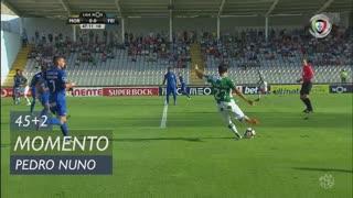 Moreirense FC, Jogada, Pedro Nuno aos 45'+2'