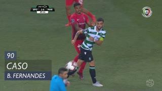 Sporting CP, Caso, Bruno Fernandes aos 90'
