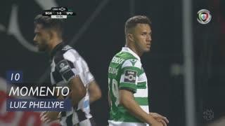 Sporting CP, Jogada, Luiz Phellype aos 10'