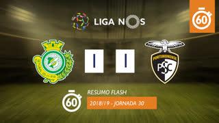 Liga NOS (30ªJ): Resumo Flash Vitória FC 1-1 Portimonense