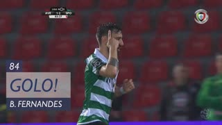GOLO! Sporting CP, Bruno Fernandes aos 84', CD Aves 1-3 Sporting CP