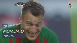 Marítimo M., Jogada, Vukovic aos 28'