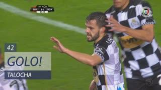 GOLO! Boavista FC, Talocha aos 42', SL Benfica 2-1 Boavista FC