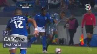 CD Feirense, Caso, J. Valencia aos 72'