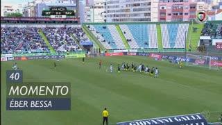 Vitória FC, Jogada, Éber Bessa aos 40'