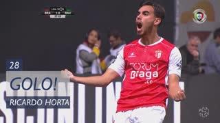 GOLO! SC Braga, Ricardo Horta aos 28', SC Braga 1-0 Rio Ave FC