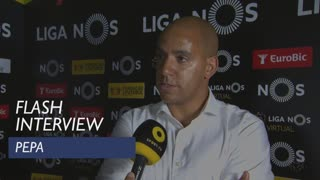 Liga (33ª): Flash Interview Pepa