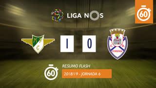 Liga NOS (6ªJ): Resumo Flash Moreirense FC 1-0 CD Feirense