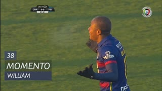 GD Chaves, Jogada, William aos 38'