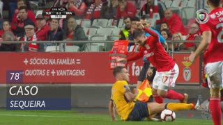 SC Braga, Caso, Sequeira aos 78'