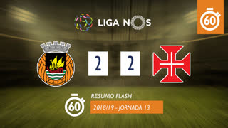 Liga NOS (13ªJ): Resumo Flash Rio Ave FC 2-2 Belenenses