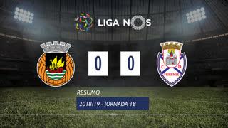 Liga NOS (18ªJ): Resumo Rio Ave FC 0-0 CD Feirense