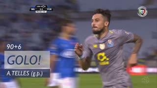 GOLO! FC Porto, Alex Telles aos 90'+6', Os Belenenses 2-3 FC Porto