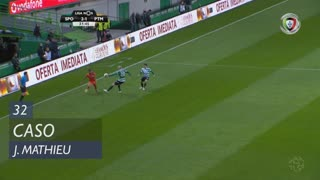 Sporting CP, Caso, J. Mathieu aos 32'
