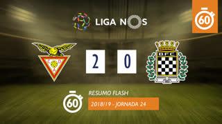 Liga NOS (24ªJ): Resumo Flash CD Aves 2-0 Boavista FC