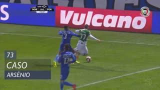 Moreirense FC, Caso, Arsénio aos 73'