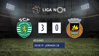 Liga NOS (28ªJ): Resumo Sporting CP 3-0 Rio Ave FC