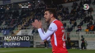 SC Braga, Jogada, Paulinho aos 1'