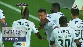GOLO! Vitória SC, Davidson aos 57', Vitória SC 2-1 Boavista FC
