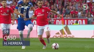 FC Porto, Caso, H. Herrera aos 59'