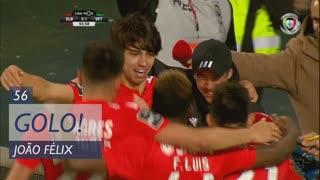 GOLO! SL Benfica, João Félix aos 56', SL Benfica 3-1 Vitória FC