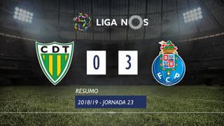 Liga NOS (23ªJ): Resumo CD Tondela 0-3 FC Porto