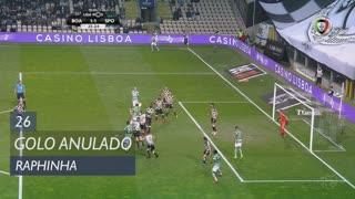 Sporting CP, Golo Anulado, Raphinha aos 26'