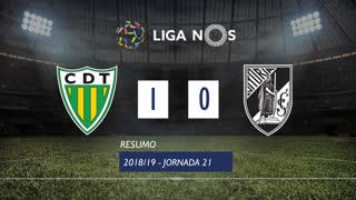 Liga NOS (21ªJ): Resumo CD Tondela 1-0 Vitória SC