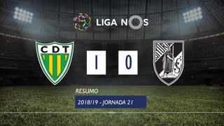 I Liga (21ªJ): Resumo CD Tondela 1-0 Vitória SC
