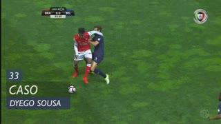 SC Braga, Caso, Dyego Sousa aos 33'